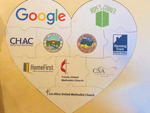 Google chips in $1M for homeless services at Trinity UMC in Mountain View