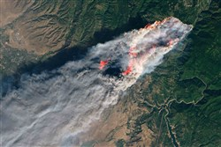 UMNS Covers Northern and Southern California Wildfires Disaster