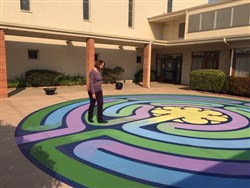 San Leandro's First UMC Dedicates New Labyrinth This Sunday