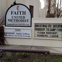 Christmas Eve Service at Faith UMC to Benefit Camp Fire Survivors
