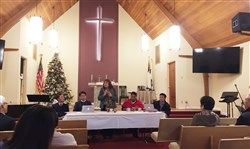 Bishop Carcaño and Korean Caucus Discuss 'A Way Forward' for UMC