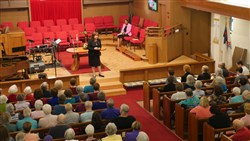 Bishop Concludes Series of Post-General Conference Episcopal Visits