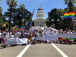 UMs Turn out in Huge Numbers for SacPride Parade