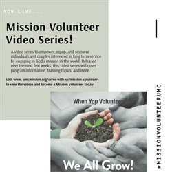 New Resource: Mission Volunteer Video Series