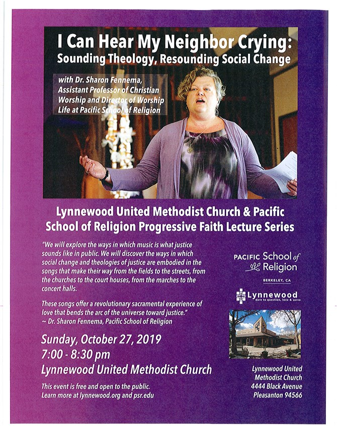 PSR, Lynnewood UMC Launch Progressive Faith Lecture Series