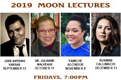2019 Moon Lectures: Provocative, Progressive, Enlightening