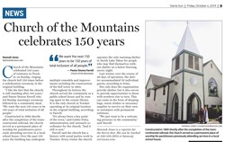 Church of the Mountains Anniversary Receives Press Attention