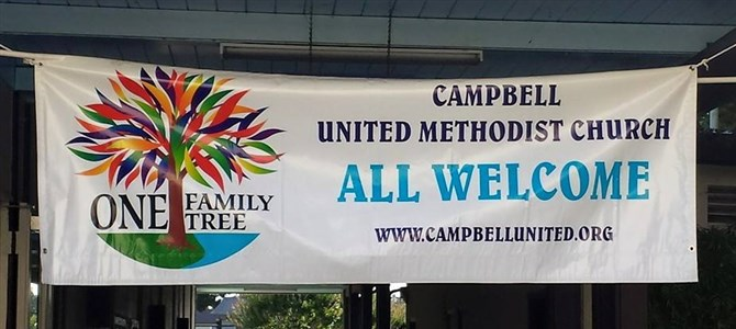Campbell UMC Celebrates 22 Years as Reconciling Congregation