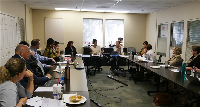 Core Team Talks Strategic Plan, Structural Change, WJ Summit at October Meeting