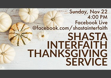 Interfaith Thanksgiving Service: You are invited!