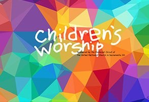 Children's Worship for Sunday November 22nd