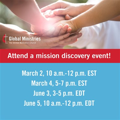 Global Ministries hosts virtual Mission Discovery events