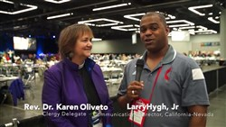Video Interview with the Rev. Dr. Karen Oliveto
